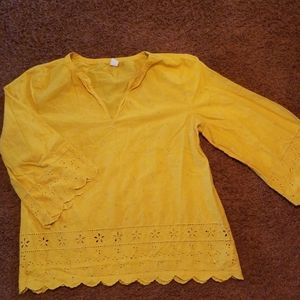 Old navy flare 3/4 sleeve top
